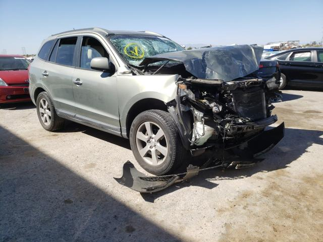 Salvage cars for sale from Copart Tucson, AZ: 2008 Hyundai Santa FE S