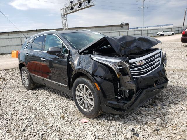 Salvage cars for sale from Copart Columbus, OH: 2019 Cadillac XT5 Luxury