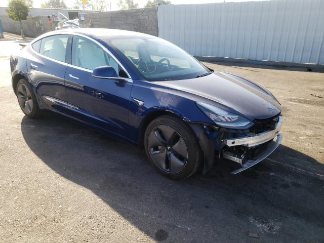 Salvage cars for sale from Copart Colton, CA: 2020 Tesla Model 3