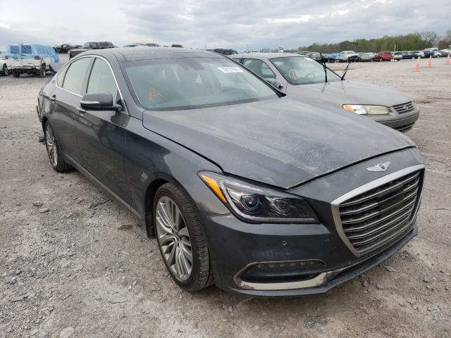 Genesis salvage cars for sale: 2019 Genesis G80 Base