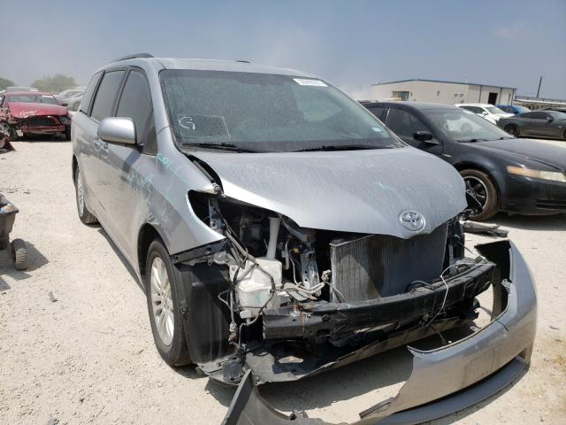Salvage cars for sale from Copart San Antonio, TX: 2015 Toyota Sienna XLE
