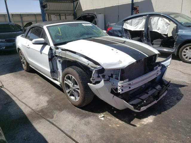 Salvage cars for sale from Copart Anthony, TX: 2014 Ford Mustang