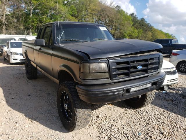Salvage cars for sale from Copart Austell, GA: 1997 Ford F250