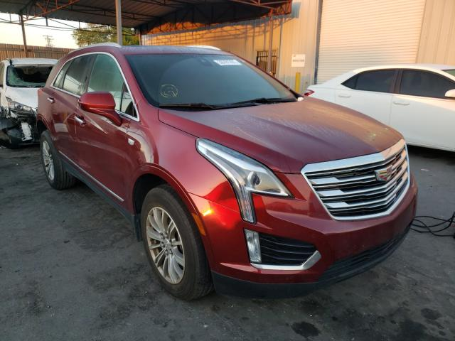 Salvage cars for sale from Copart Orlando, FL: 2017 Cadillac XT5 Luxury