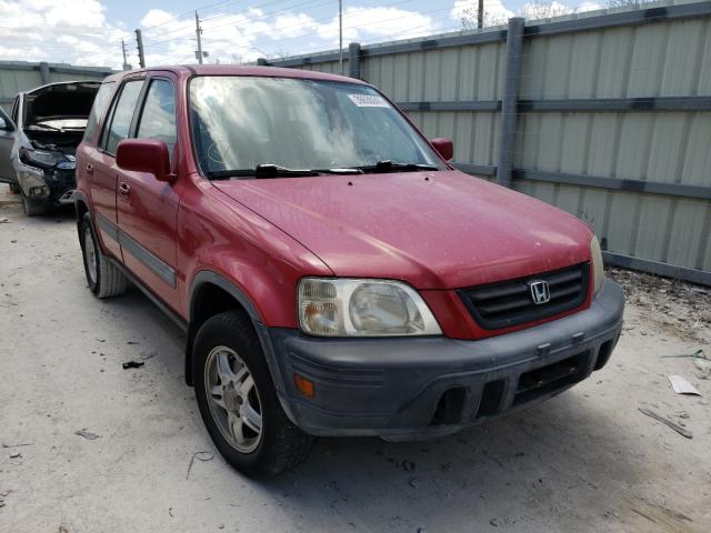 Salvage cars for sale from Copart Homestead, FL: 2001 Honda CR-V EX