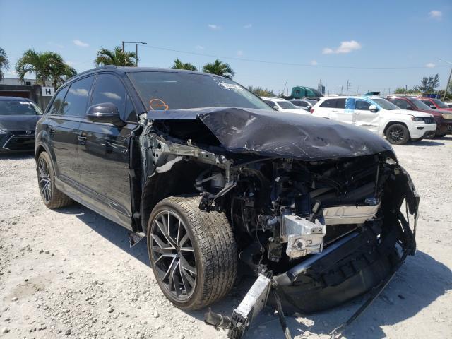 Salvage cars for sale from Copart Opa Locka, FL: 2021 Audi Q7 Prestige
