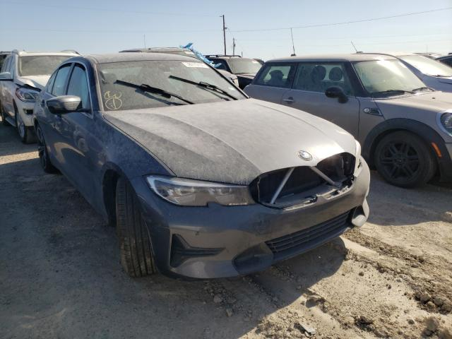 Salvage cars for sale from Copart Temple, TX: 2020 BMW 330I