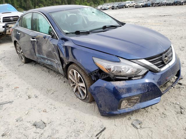 Salvage cars for sale from Copart Tifton, GA: 2017 Nissan Altima 2.5