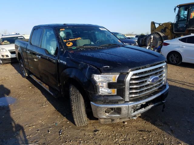 Salvage cars for sale from Copart Kansas City, KS: 2017 Ford F150 Super