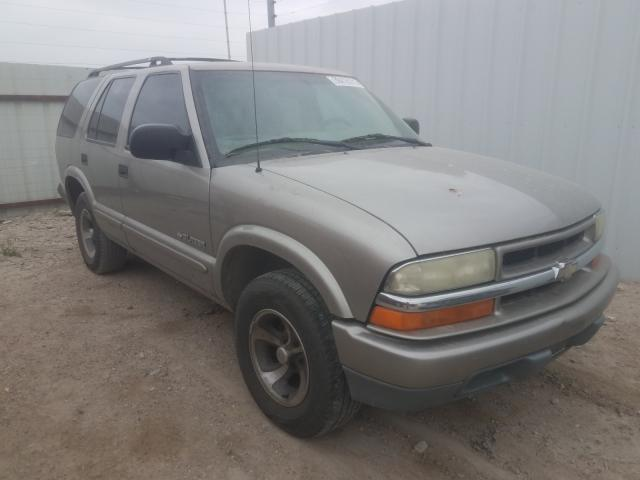 Salvage cars for sale from Copart Temple, TX: 2004 Chevrolet Blazer