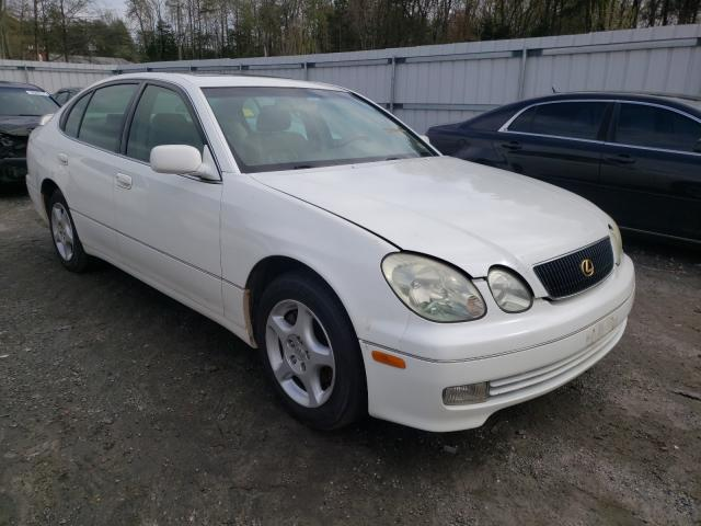 Salvage cars for sale from Copart Fredericksburg, VA: 2000 Lexus GS 300