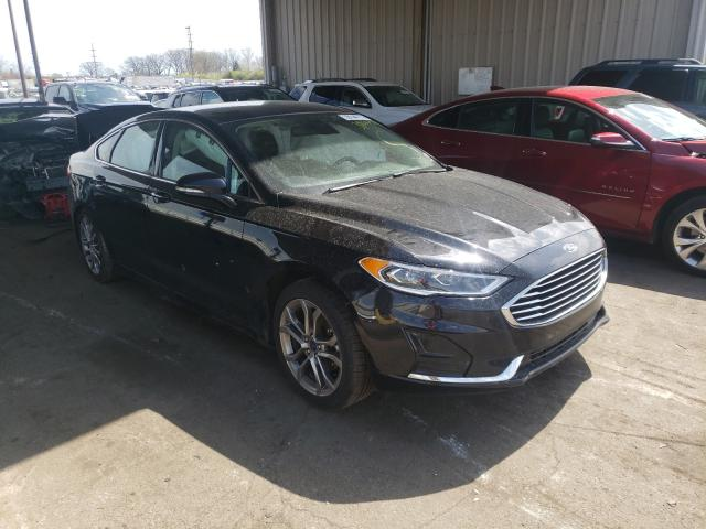 Salvage 2019 FORD FUSION - Small image. Lot 39144771