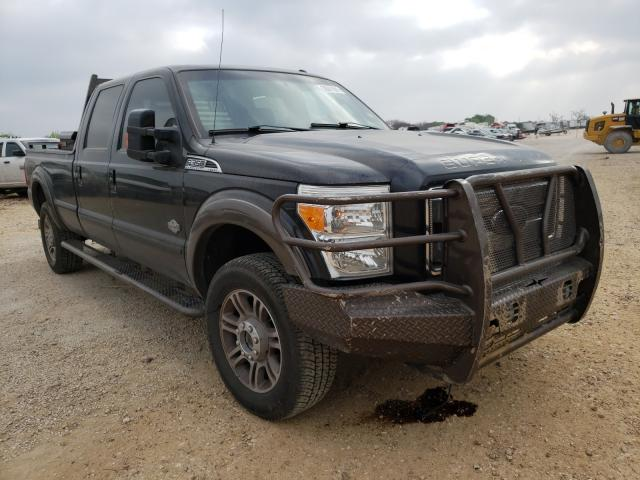 Salvage cars for sale from Copart San Antonio, TX: 2015 Ford F350 Super