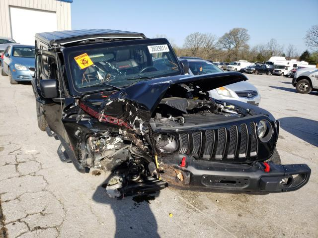 Salvage cars for sale from Copart Rogersville, MO: 2018 Jeep Wrangler U