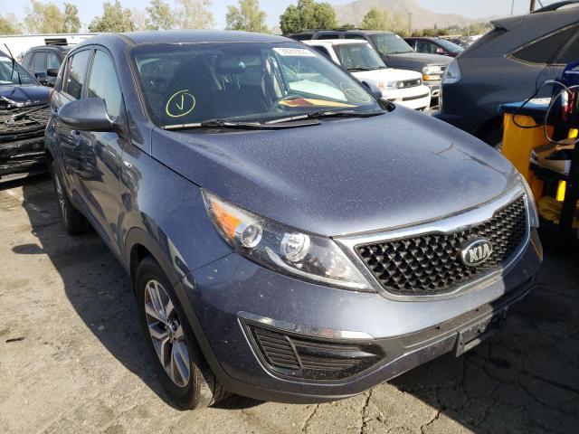 Salvage cars for sale from Copart Colton, CA: 2016 KIA Sportage L