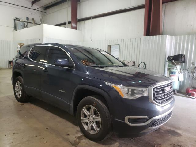 Salvage cars for sale from Copart Lufkin, TX: 2018 GMC Acadia SLE