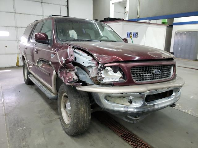 Ford Expedition salvage cars for sale: 1998 Ford Expedition