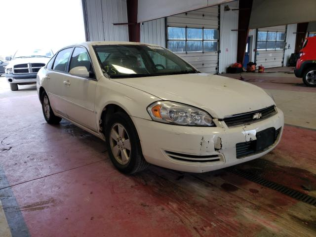 Salvage cars for sale from Copart Angola, NY: 2006 Chevrolet Impala