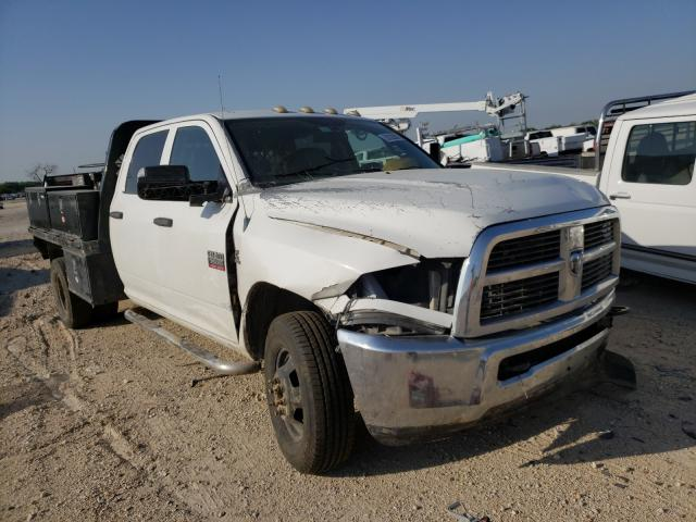 Salvage cars for sale from Copart San Antonio, TX: 2011 Dodge RAM 3500 S