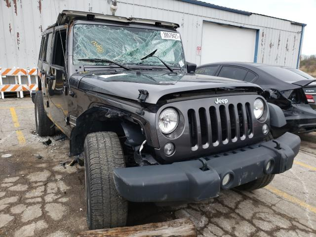 Vehiculos salvage en venta de Copart Chicago Heights, IL: 2017 Jeep Wrangler U