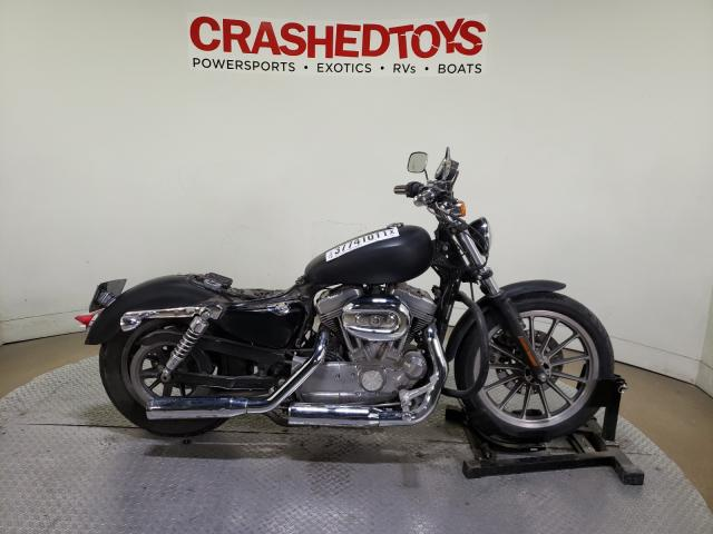 Harley-Davidson XL883 L salvage cars for sale: 2009 Harley-Davidson XL883 L