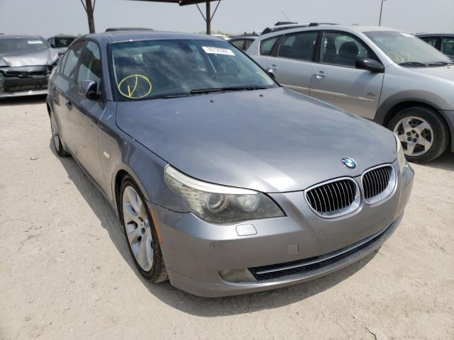 Salvage cars for sale from Copart Temple, TX: 2008 BMW 535 I