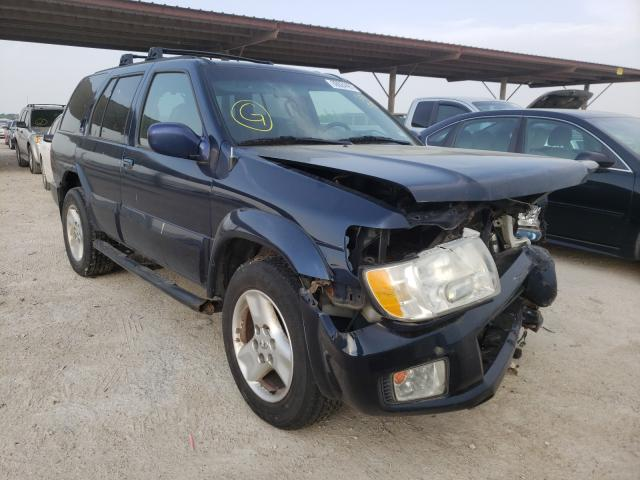 Infiniti QX4 salvage cars for sale: 2003 Infiniti QX4