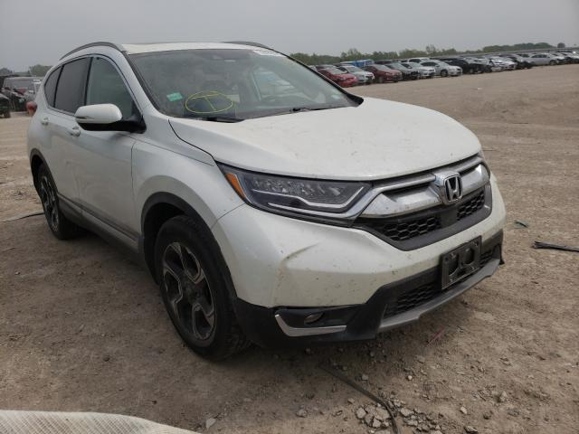 Salvage cars for sale from Copart Temple, TX: 2018 Honda CR-V Touring