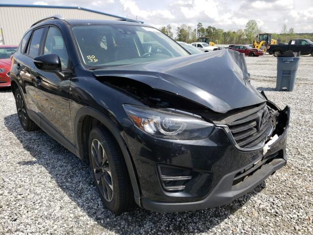 Salvage cars for sale from Copart Spartanburg, SC: 2016 Mazda CX-5 GT