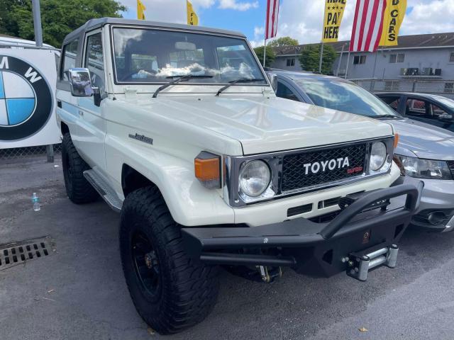 Global Auto Auctions: 1986 TOYOTA LANDCRUISR