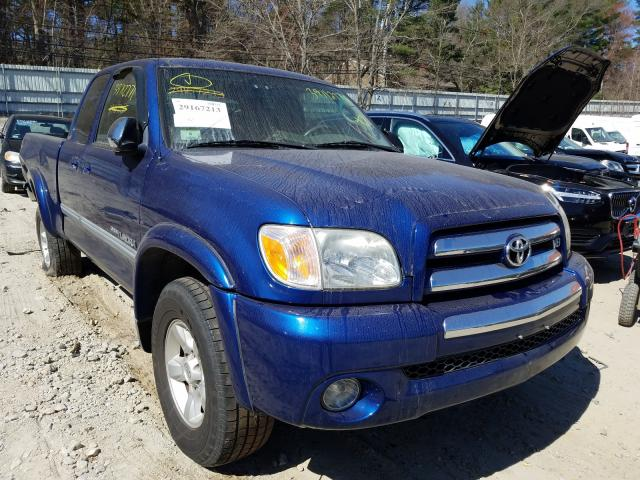 Salvage cars for sale from Copart Mendon, MA: 2006 Toyota Tundra ACC