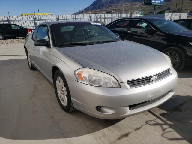 Salvage cars for sale from Copart Farr West, UT: 2006 Chevrolet Monte Carl