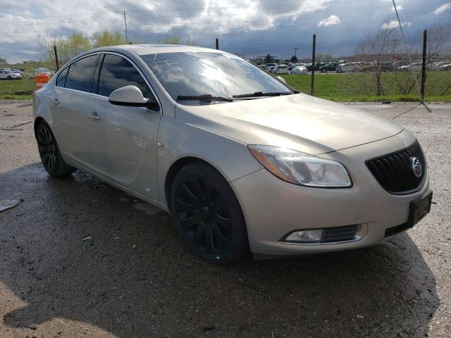 Salvage 2011 BUICK REGAL - Small image. Lot 39569541