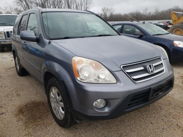 Salvage cars for sale from Copart Milwaukee, WI: 2005 Honda CR-V EX