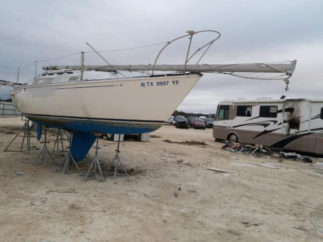 Salvage cars for sale from Copart New Braunfels, TX: 1977 Sail CC24