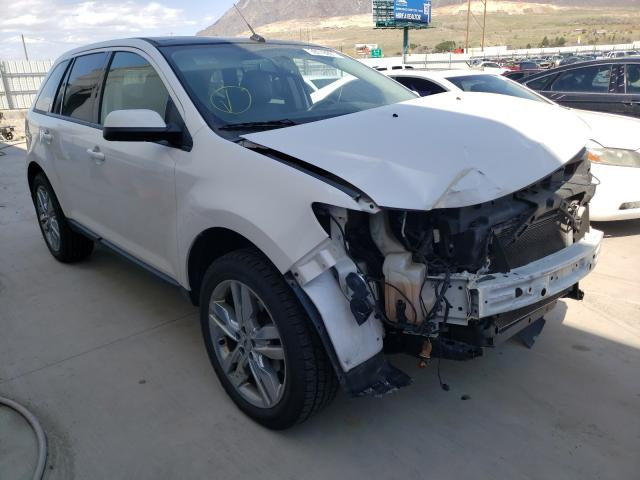 Salvage cars for sale from Copart Farr West, UT: 2013 Ford Edge SEL