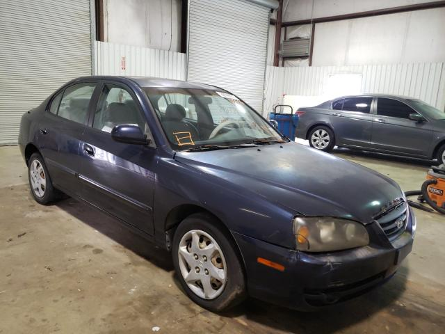 Salvage cars for sale from Copart Lufkin, TX: 2005 Hyundai Elantra GL