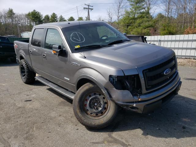 Salvage cars for sale from Copart Exeter, RI: 2013 Ford F150 Super