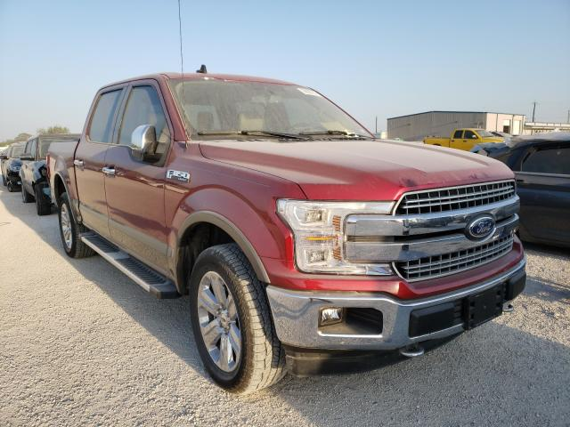 Salvage cars for sale from Copart San Antonio, TX: 2019 Ford F150 Super