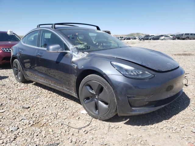 Salvage cars for sale at Magna, UT auction: 2018 Tesla Model 3