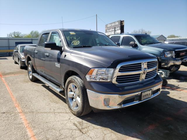 Salvage cars for sale from Copart Wichita, KS: 2017 Dodge RAM 1500 SLT