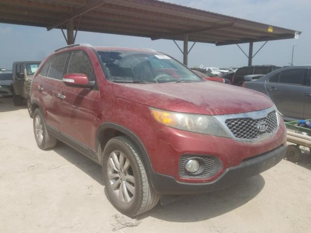 Salvage cars for sale from Copart Temple, TX: 2011 KIA Sorento EX
