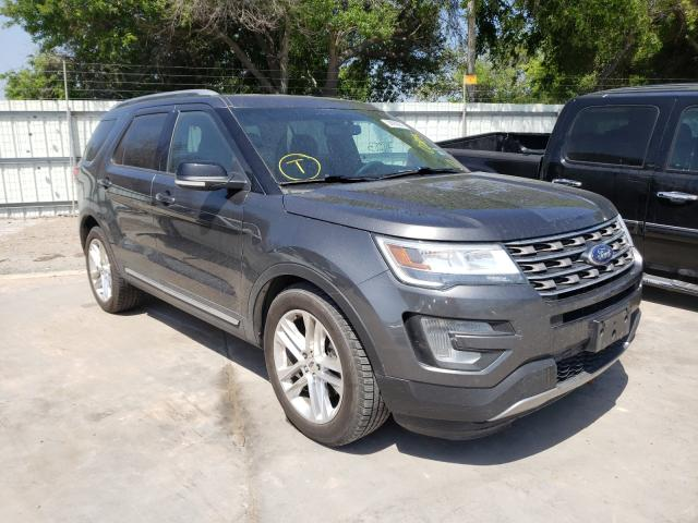 Salvage cars for sale from Copart Corpus Christi, TX: 2016 Ford Explorer X
