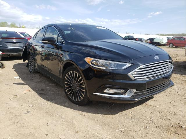 Ford Vehiculos salvage en venta: 2017 Ford Fusion Titanium