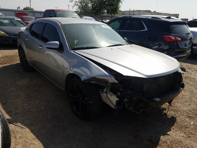 Salvage cars for sale from Copart Mercedes, TX: 2013 Dodge Avenger SX