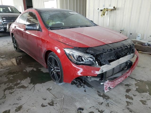 Salvage cars for sale from Copart Homestead, FL: 2018 Mercedes-Benz CLA 250