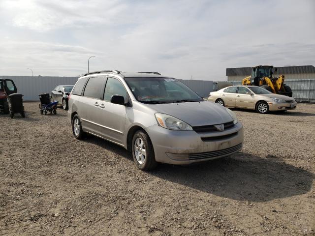 Vehiculos salvage en venta de Copart Bismarck, ND: 2004 Toyota Sienna CE