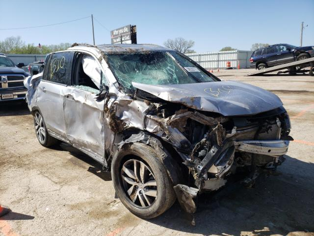 Salvage cars for sale from Copart Wichita, KS: 2017 Honda Pilot Elit