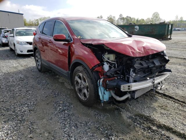 Salvage cars for sale from Copart Spartanburg, SC: 2019 Honda CR-V EXL
