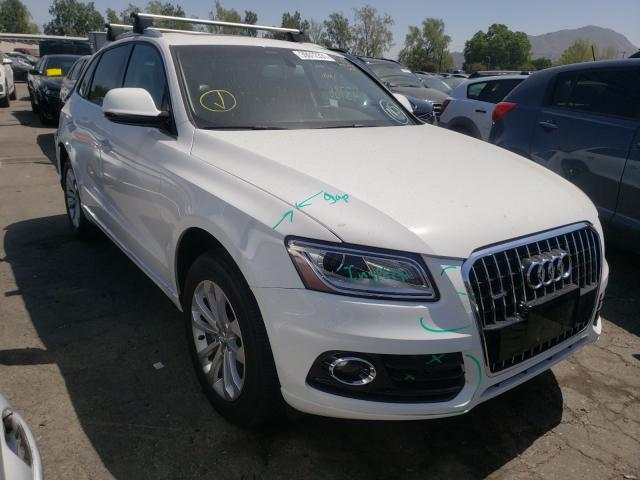 Salvage cars for sale from Copart Colton, CA: 2017 Audi Q5 Premium